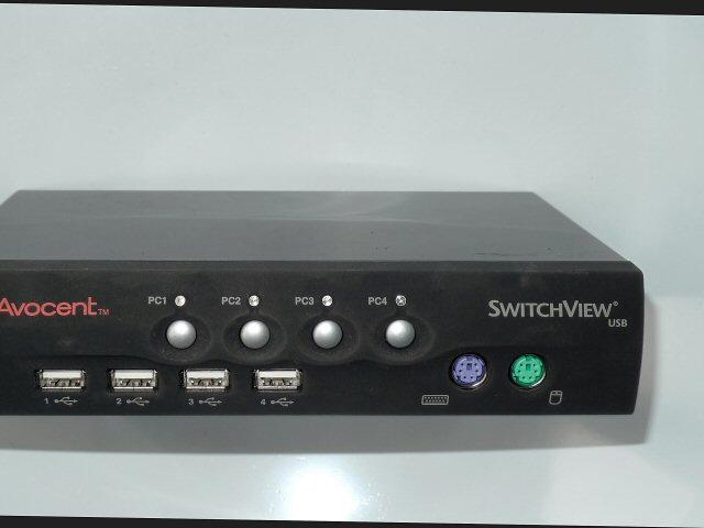 4 fach KVM USB