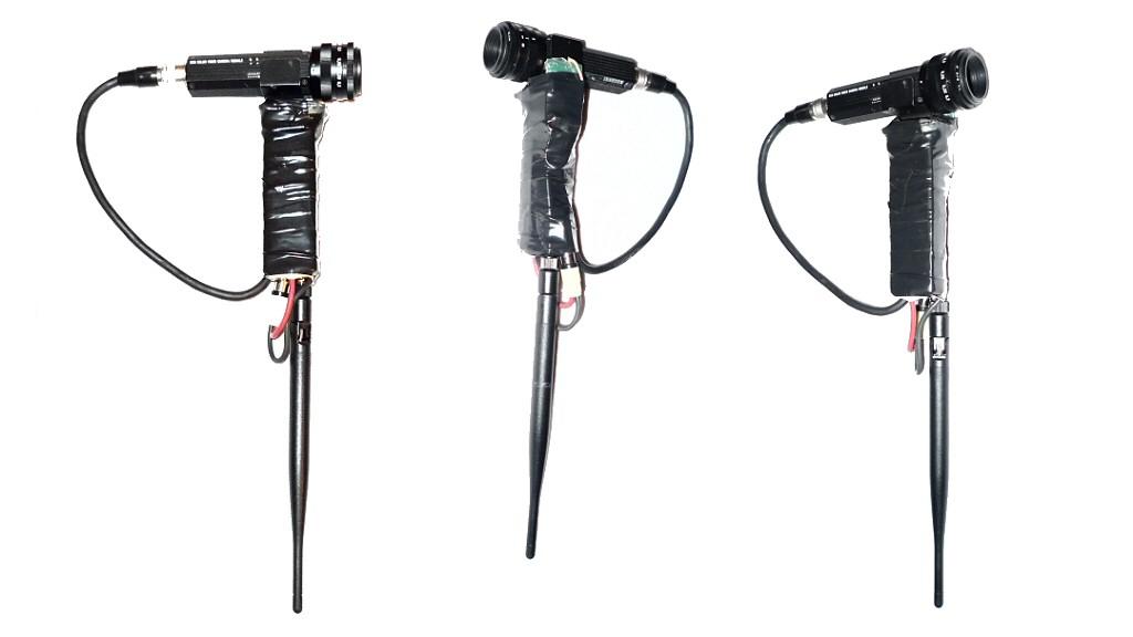 Funkkamerasystem mit Sony XC-555P