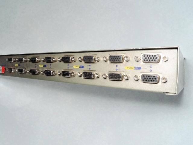 VGA 4x4 Router (2 Stück) und diverse Splitter