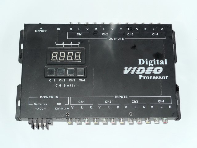 4x4 Videomatrix (2 Stück)